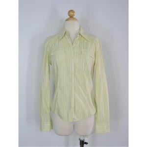 Button Down Striped Career Dress Shirt Eli Tehari